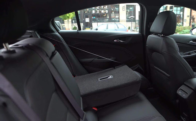 Novo Chevrolet Cruze Sport6 2017 - interior - espaço traseiro