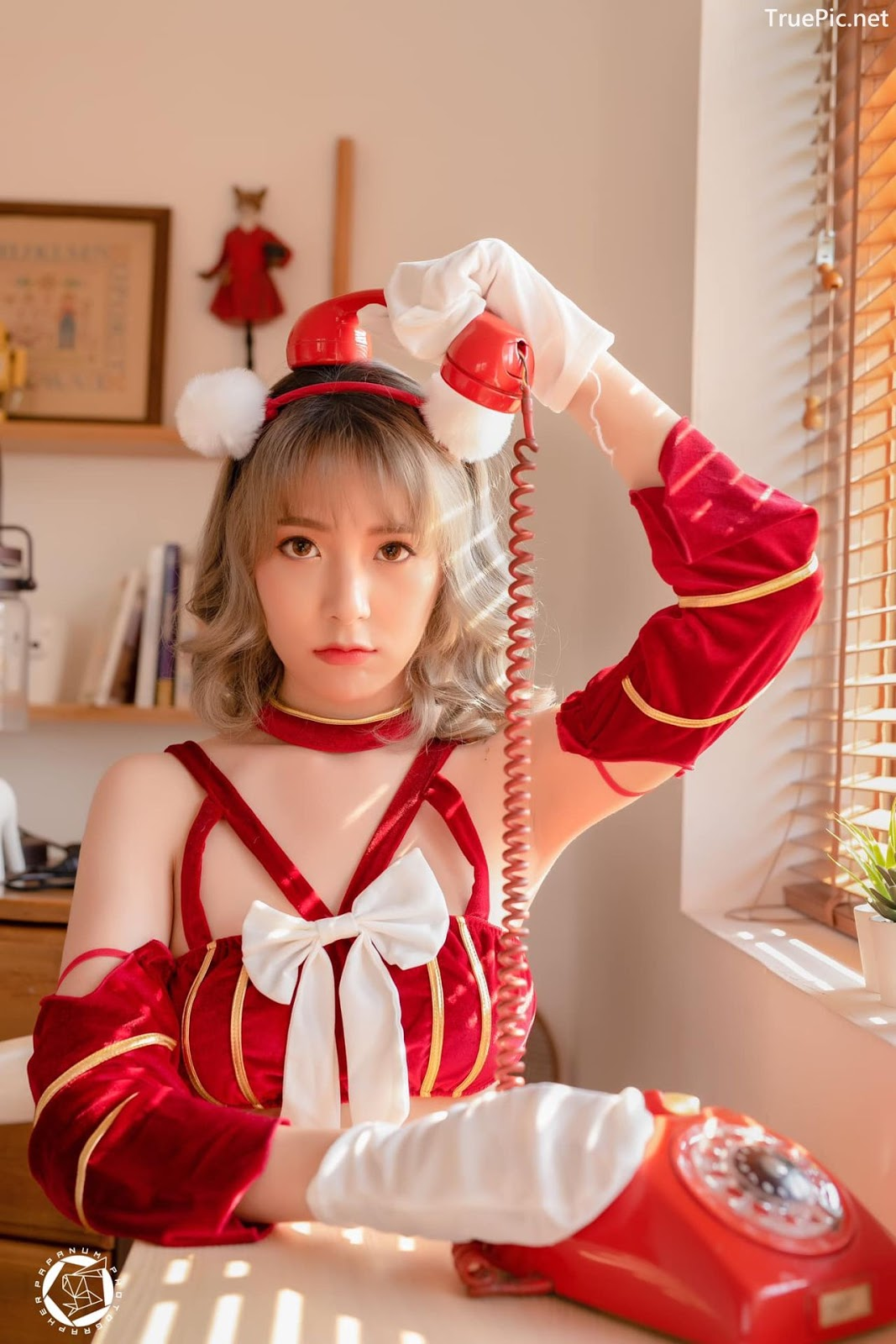 Image-Thailand-Cute-Model-Rattanaporn-Sitthisanguanthai-Red-Valentines-TruePic.net- Picture-2