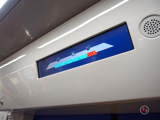 Passenger Information Display System, PIDS 雅加達地鐵系統紅線 - Moda Raya Terpadu Jakarta / Jakarta MRT North–South Line