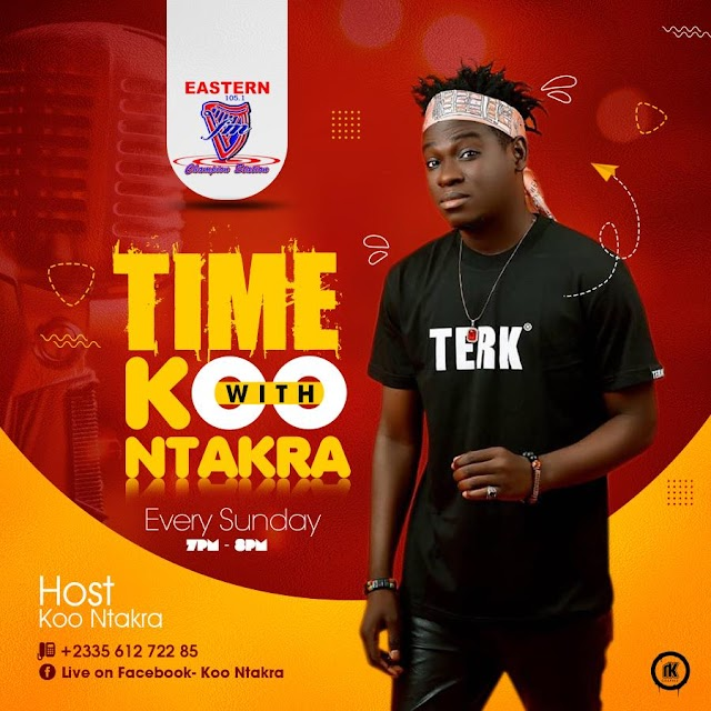 Koo Ntakra Joins Eastern 105.1 Fm