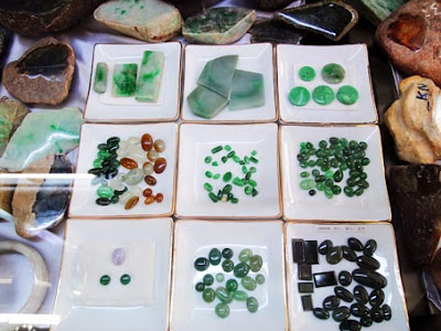 Jade Cabochons and Slabs