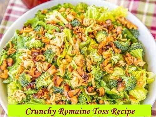 Tasty And Crunchy Romaine Toss Recipe