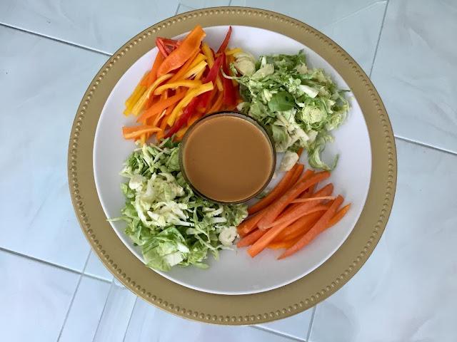 vegetables for Pad Thai