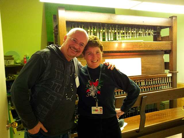 Pierre Massie and Andrea McCrady, Canada's Dominion Carillonneur (and National Treasure)