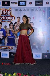 Actress Akshara Haasan Stills in Skirt and Blouse at Laali Ki Shaadi Mein Laddoo Deewana Trailer Launch  0004.jpg