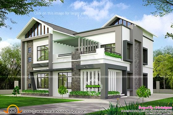 Nice house exterior