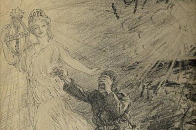 Angel of Mons by Leonard Raven Hill