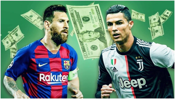 Top five highest-paid players in Europe