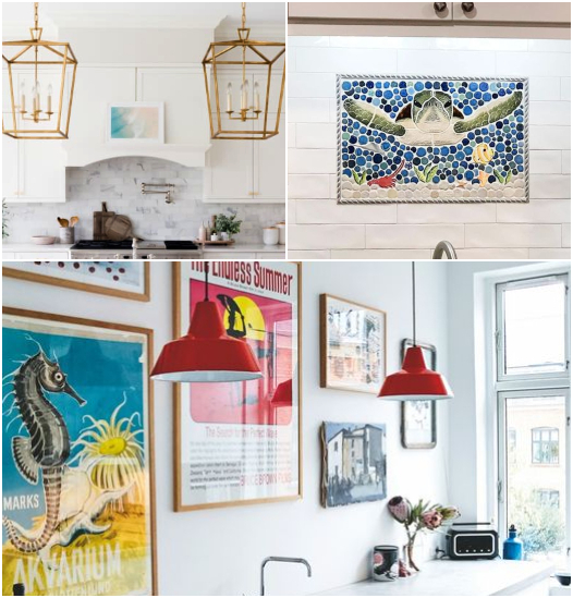 How to Use Art in the Kitchen