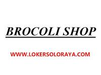 Lowongan Kerja Solo di Brocoli Shop Sebagai Pengiriman, Toko, Gudang, Driver