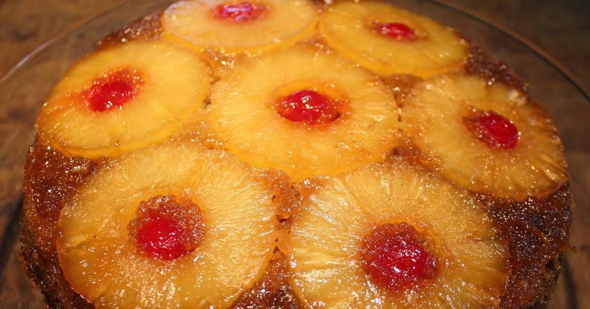 No Sugar Added Pineapple Upside Down Cake