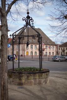 Place d'armes de Neuf-Brisach — Puits