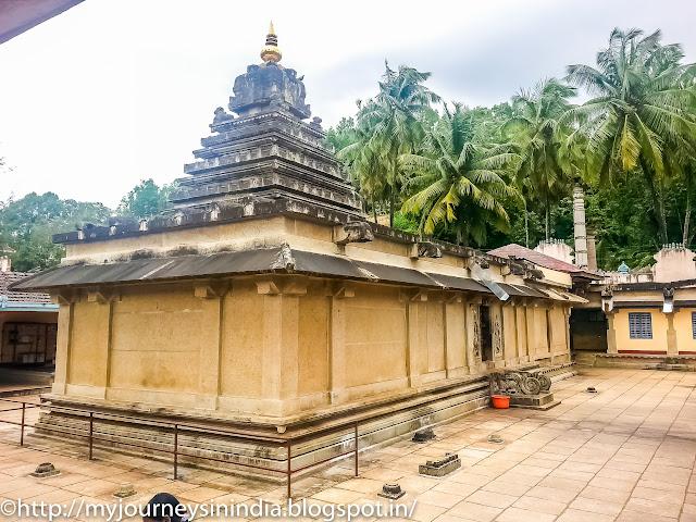 Kalasa Kalaseshwara temple Vimana