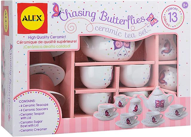 Butterfly Ceramic Tea Set