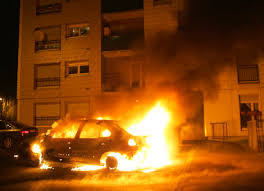 car burn