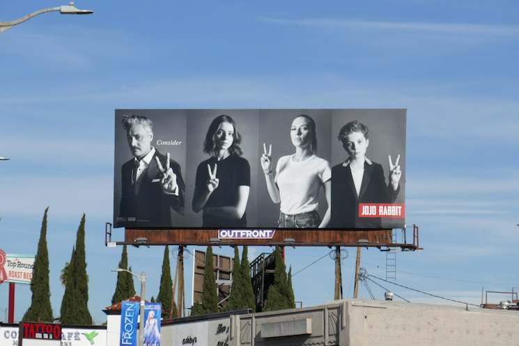 Consider Jojo Rabbit Oscar billboard