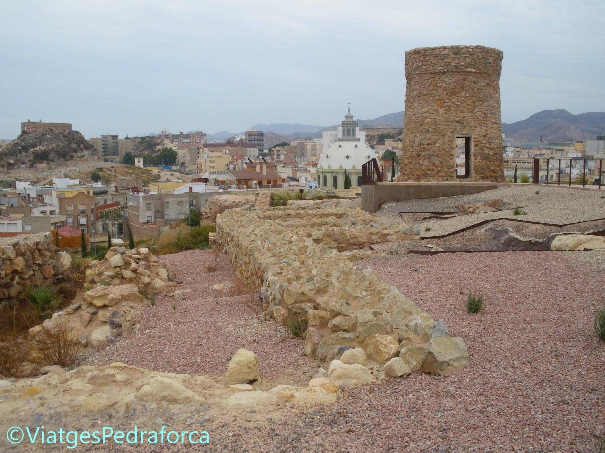 Parc arqueològic del Molinete, Barrio del Foro Romano,