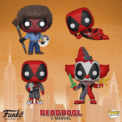 Deadpool 2 Movie Pop! Vinyl Figures by Funko x Marvel