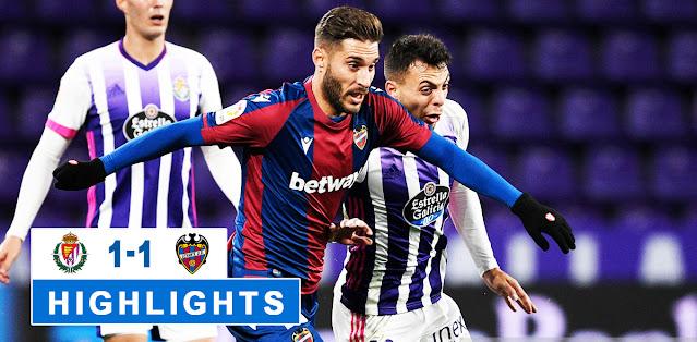 Real Valladolid vs Levante – Highlights