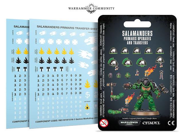 Mejoras Salamandras