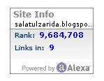 Alexa Traffic Rank 17 Oktober 2017