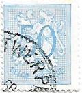 Selo Número 50, carimbo de Antwerpen