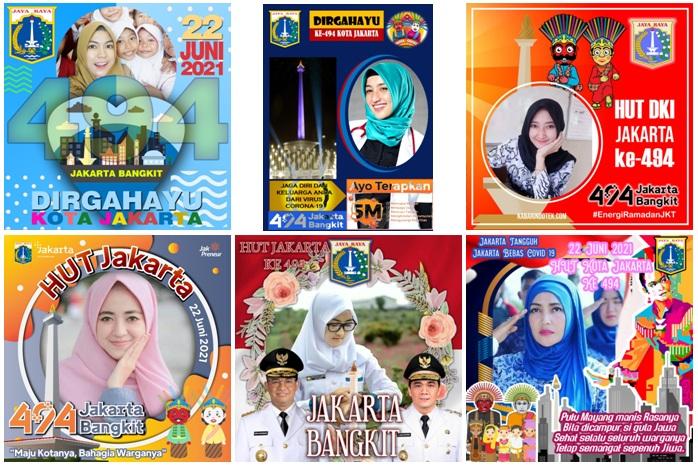 20 TWIBBON HUT DKI Jakarta 2021 ke-494