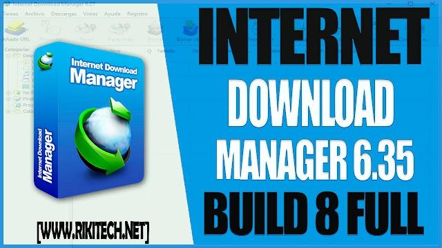 Internet Download Manager 6.35 (Build 8)