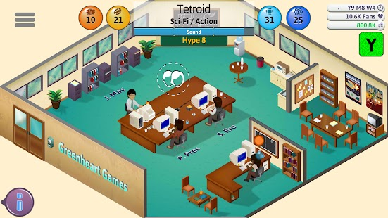 Game dev tycoon Apk Free on Android Game Download