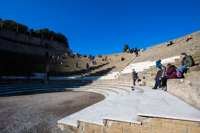 Teatro grande-Scavi di Pompei