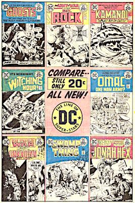 Weird Adventure Comics #436, DC house ad