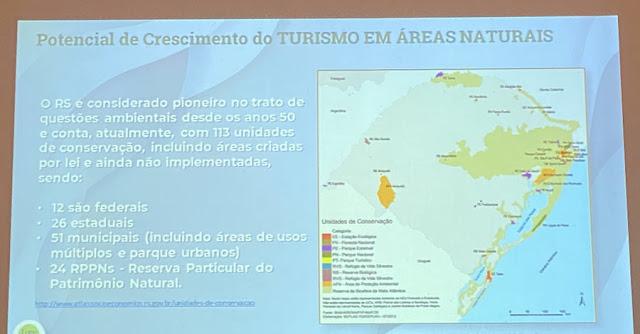 Semana Municipal do Turismo e palestra: Turismo de Natureza - Vida ao ar livre! - Caxias do Sul