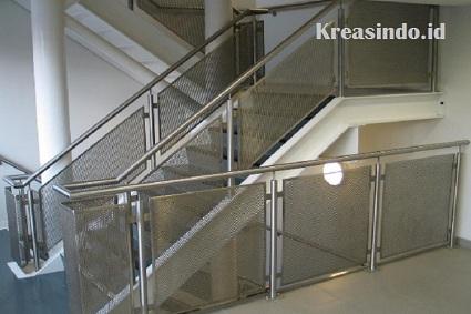 Harga Railing Balkon Stainless Minimalis RKMporforated