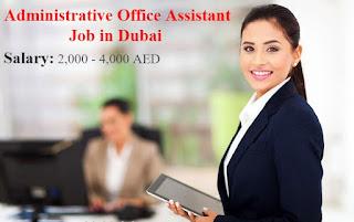 Admin Assistant (Account Assistant) Recruitment in Construction Company Dubai