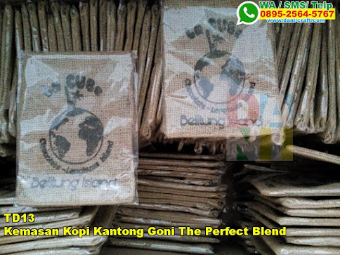 Jual Kemasan Kopi Kantong Goni The Perfect Blend