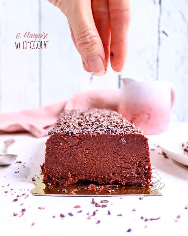 gateau au chocolat sans cuisson