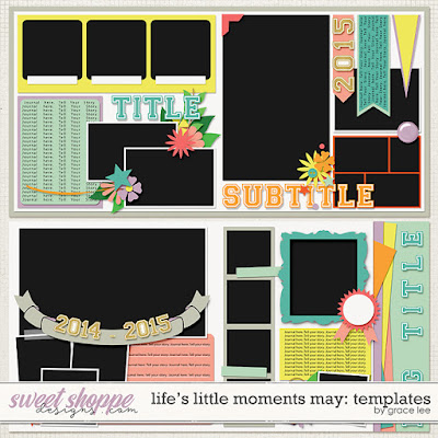 Life's Little Moments May: Templates