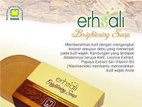 ERHSALI Brightening Soap NASA - Sabun Cuci Muka Perawatan Muka Menghilangkan Flek dan Kotoran Muka