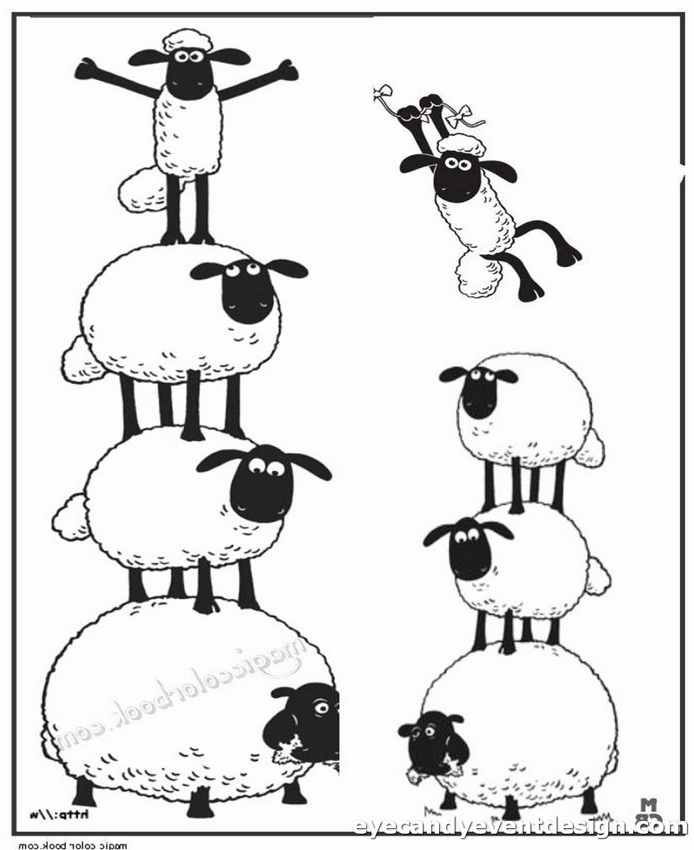 Ausmalbilder Shaun Das Schaf Kostenlos