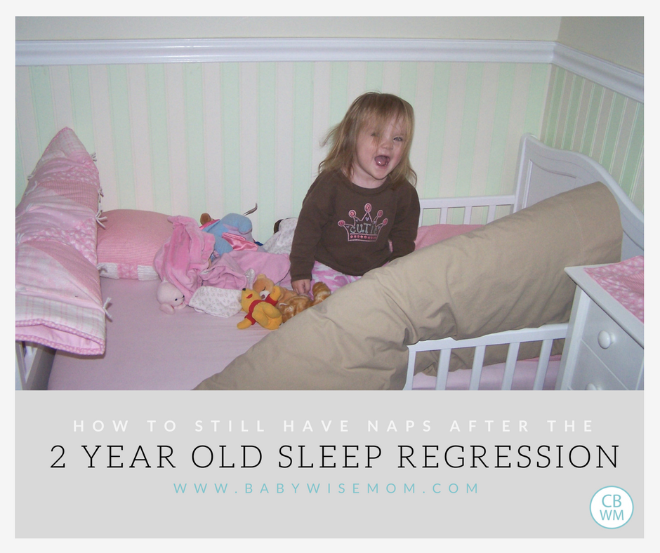 Two Year Old Sleep Regression Chronicles Of A Babywise Mom
