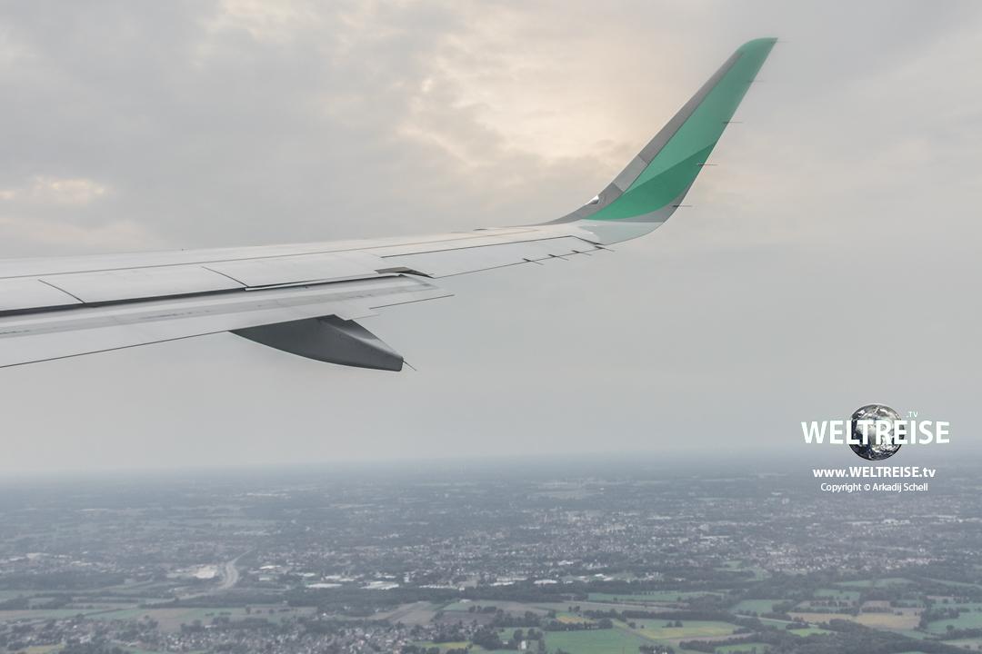 Eurowings Flugzeug www.WELTREISE.tv