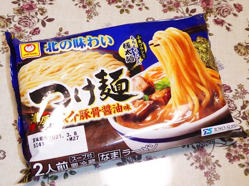 【マルちゃん(TOYO SUISAN)】北の味わい つけ麺 濃厚魚介豚骨醤油味 パッケージ