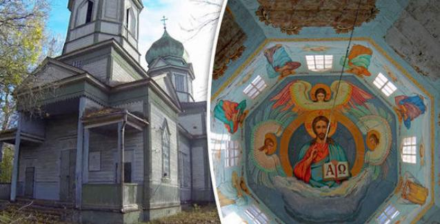 Εκκλησία στο Τσερνομπίλ βρέθηκε σε άριστη κατάσταση