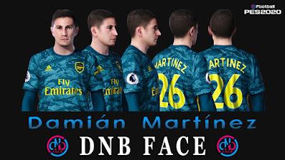 PES 2020 Faces Damián Martínez by DNB