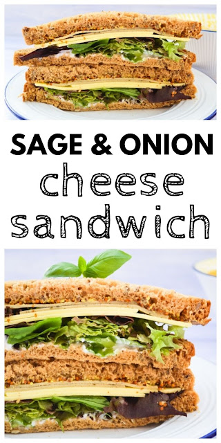 Sage and Onion Cheese Sandwiches
