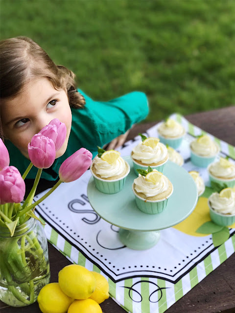 homemade vanilla cupcakes with lemon buttercream frosting recipe