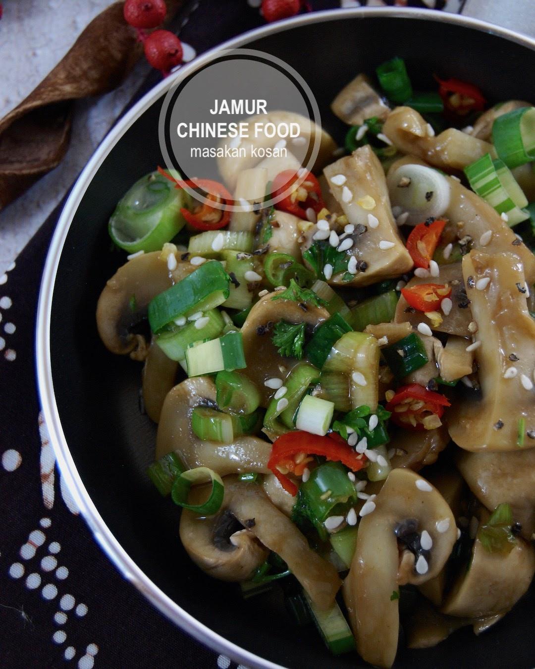 Resep Praktis Anak Kos: Oseng Jamur Chinese Food