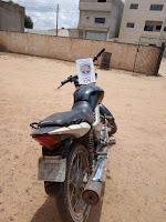 Moto roubada e encontrada de posse de um menor em Buíque