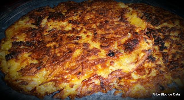 Clatita (galette) de cartofi