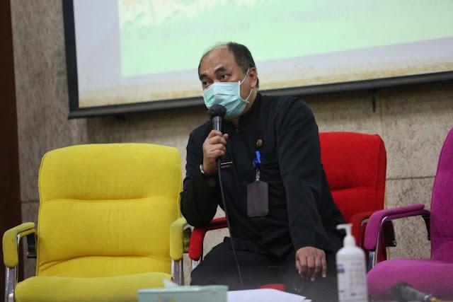 Agus Hidayat (SEKRETARIS Dinas Penataan Ruang (Distaru) Kota Bandung), terkait raperda tata ruang kota bandung